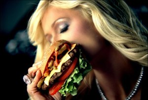 Paris Hilton Carl's Jr. ad