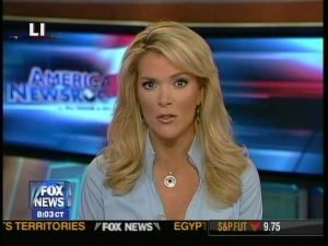 Megyn Kelly: Reason to watch Fox News (volume off, of course).