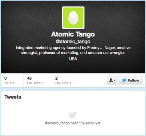 Another fake Atomic Tango profile