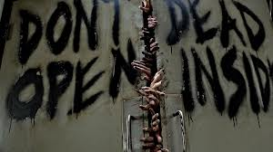 """Sign on """"The Walking Dead"""" writers' room."""