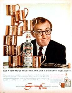 Woody Allen Smirnoff
