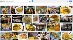 Google search for Pad Thai