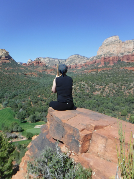 View in Sedona, Arizona