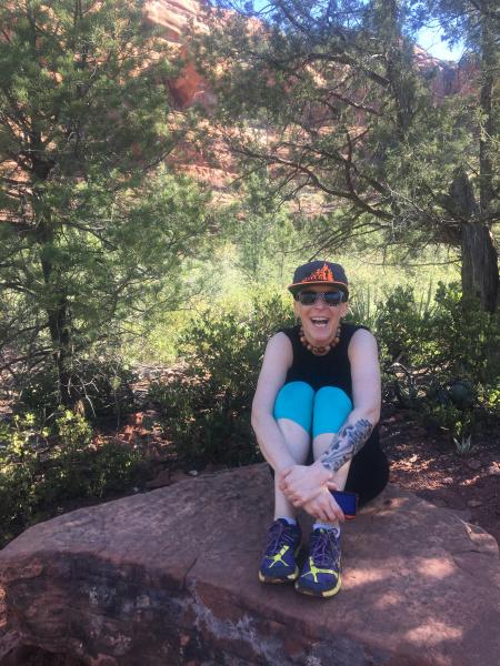 Kim Tronic in Sedona, Arizona