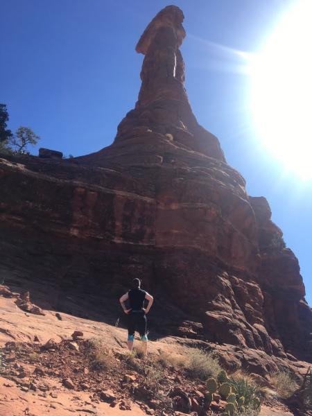 Hiking in Sedona, Arizona