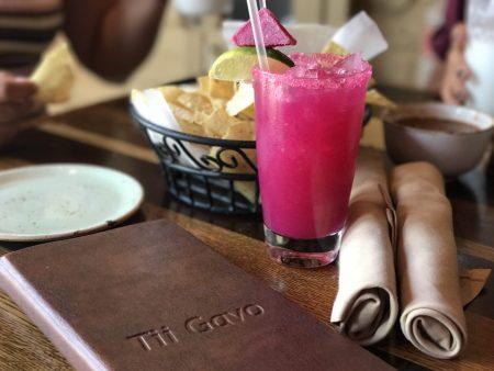 Dining at Tii Gavo in Sedona, Arizona