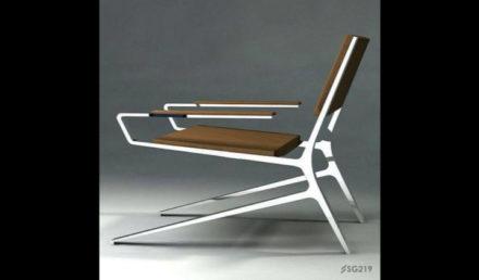 Steelo' Art Metal Chair