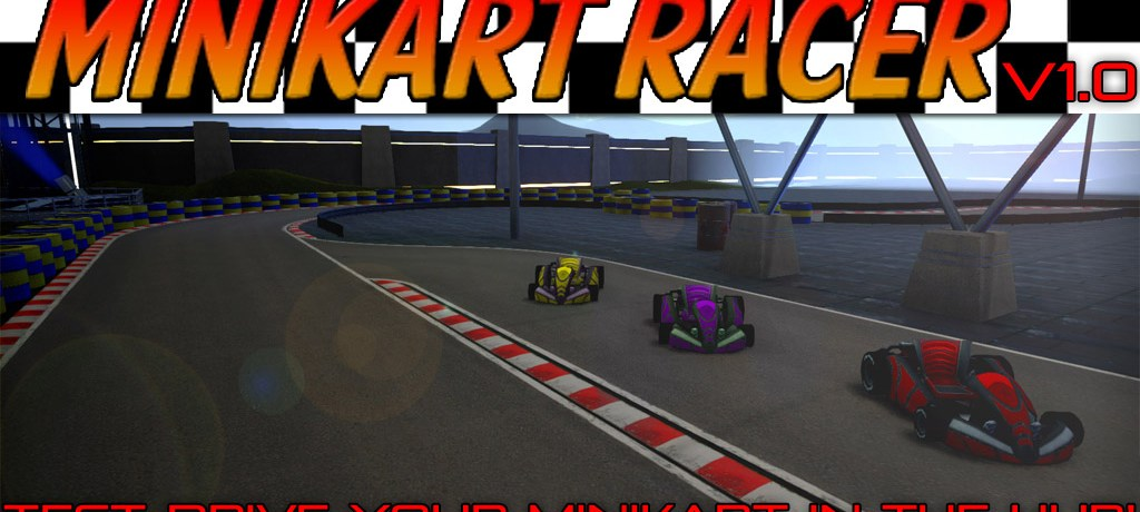 WelcomeScreen_Minikart