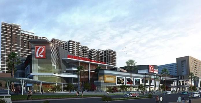 Outside view of Robinsons Galleria Cebu