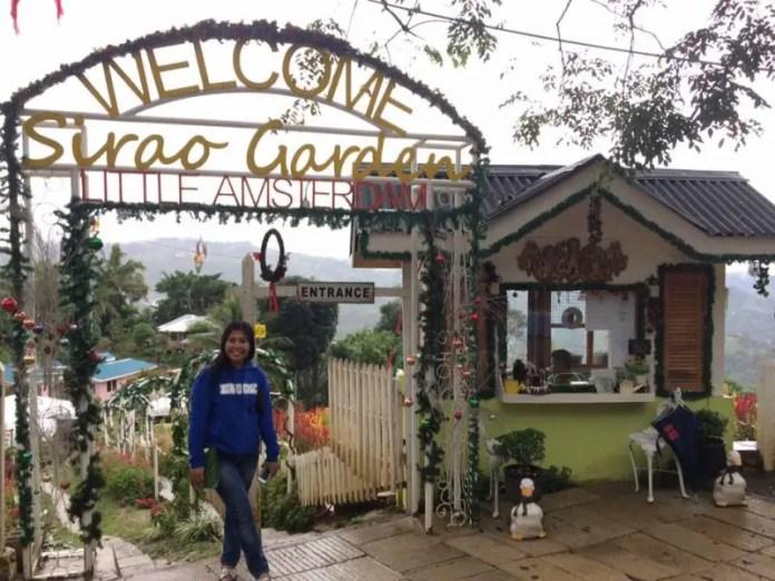 Sirao Flower Garden Entrance