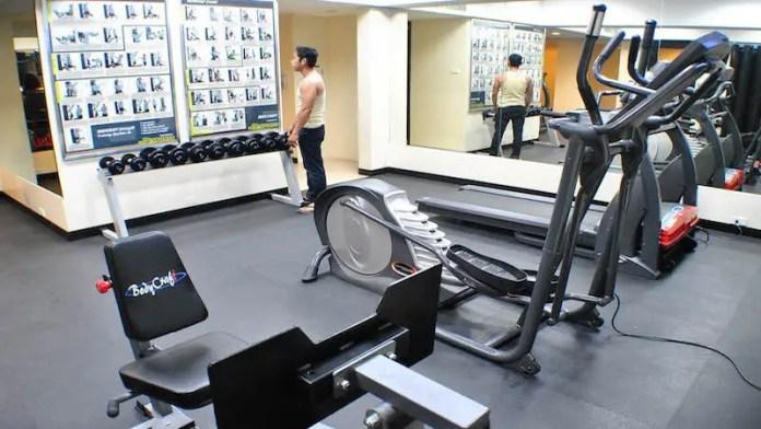 Elizabeth Hotel Gym