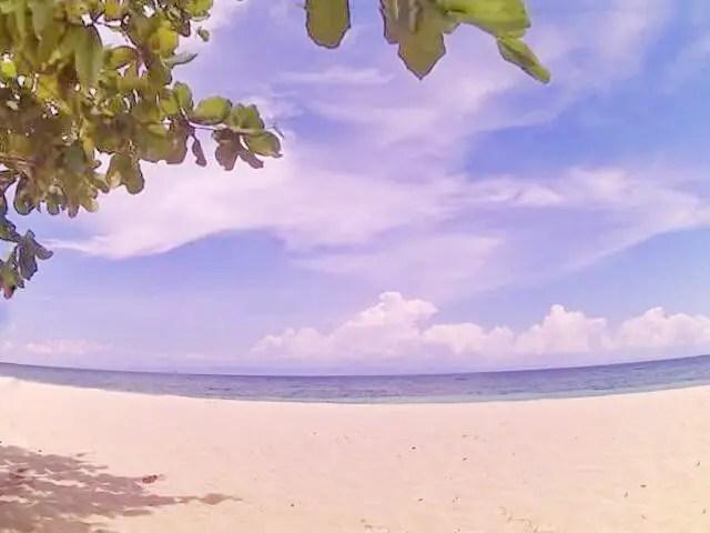 Amazing White Sand Outside Borromeo Beach Resort