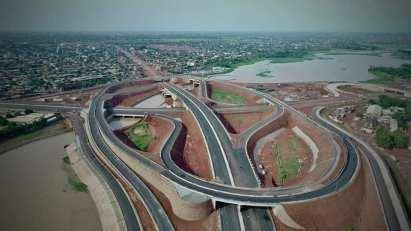 """Résultat de recherche d'images pour """"Echangeur du Nord : l'infrastructure, ouverte à la circulation"""""""