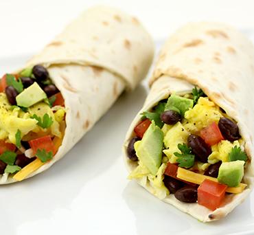 Breakfast Lavash Burrito