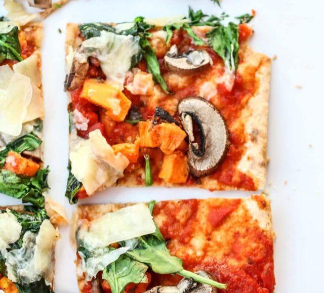 Rustic Vegetable Lavash Pizza