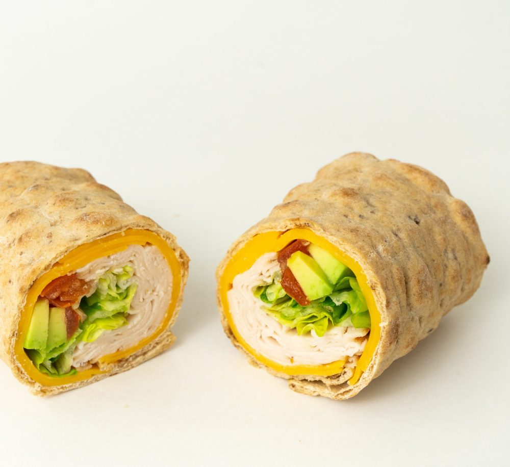 Mini Lavash Turkey Wrap