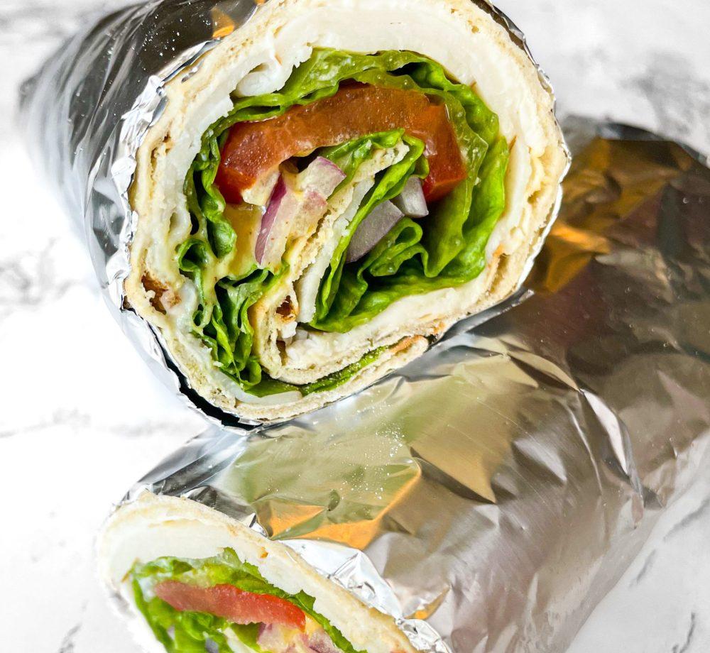 Lavash Turkey Wrap