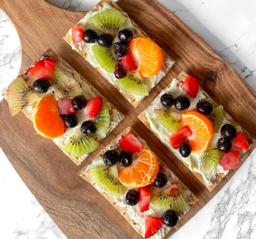 Mini Lavash Fruit Tarts