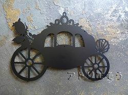 142:馬車+薔薇+貝妻飾り