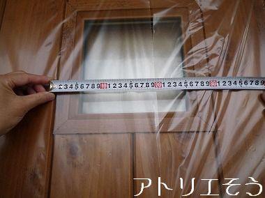 ホヌ+プルメリア玄関ドア飾り