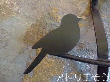 34:小鳥妻飾り 。錆に強いアルミ製妻飾り。