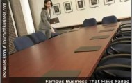Image of a women in an empty conference room