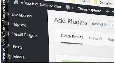 Screenshot of a add new plugin page of wordpress