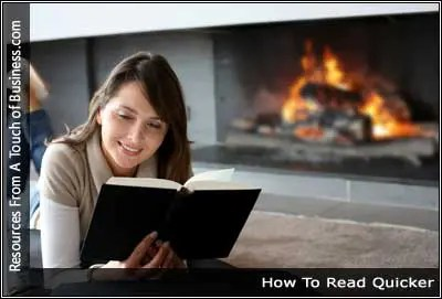Image of a girl reading next to a fire place
