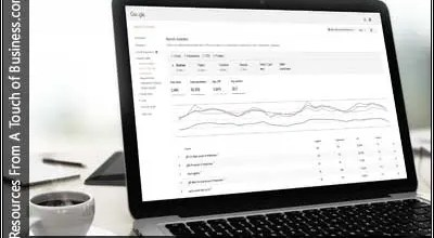 Image of a Laptop Screen displaying Google Search Console