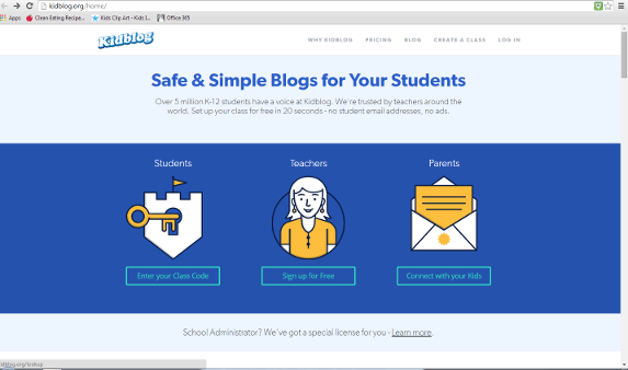 Student Blogging Made Easy