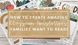 classroom-newsletters