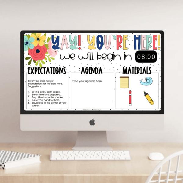 PowerPoint Slideshow Timer Slides Example 2