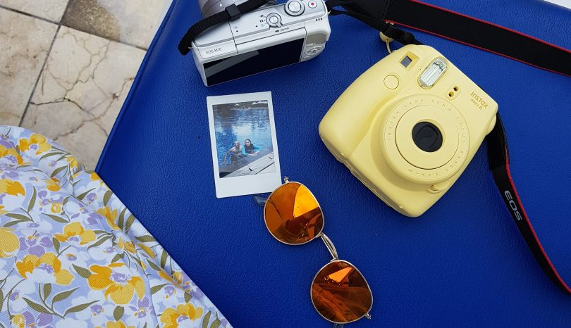 instax vacation pictures