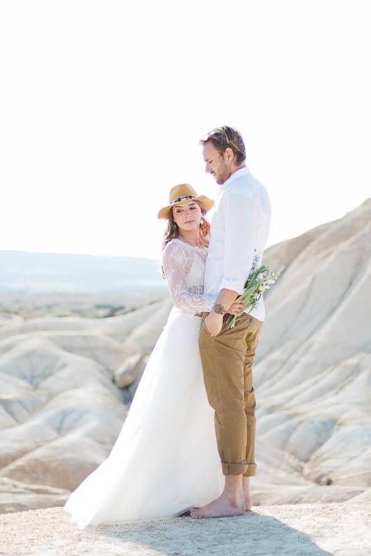 mariage dans le desert