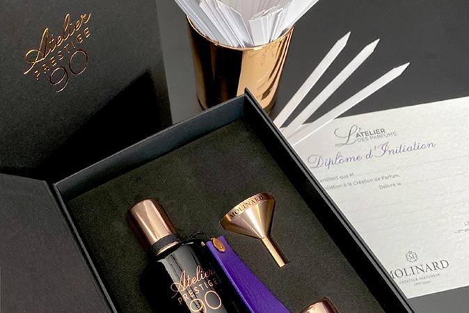 Maison Molinard atelier parfum sur mesure en partenariat avec Atout Coeur Wedding