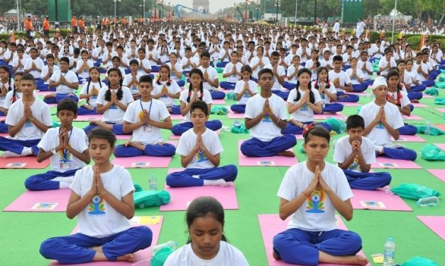 Essay on International Yoga Day in English for School Kids & Children