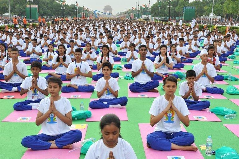 essay on international yoga day in english for school kids