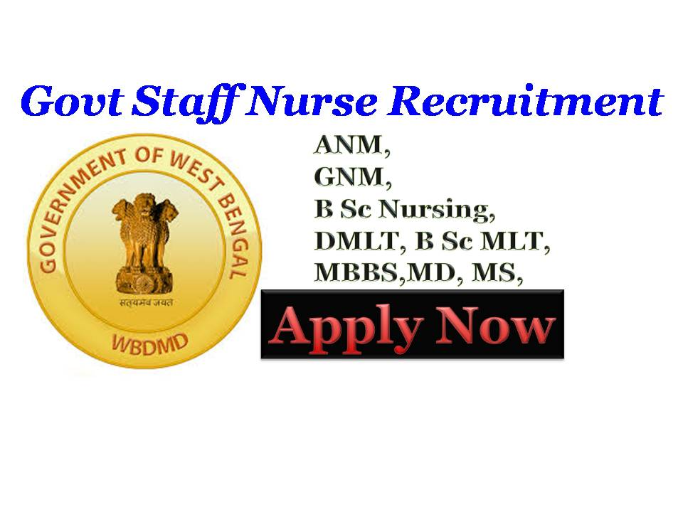 NHM West Bengal Recruitment