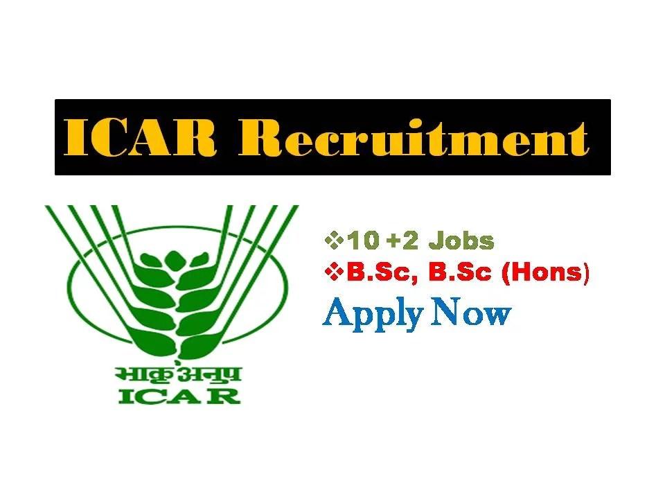 ICAR Recruitment Notification