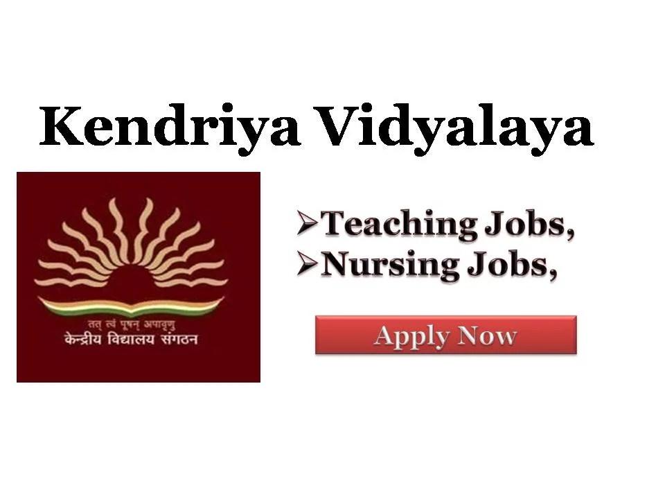 KVS West Bengal Recruitment