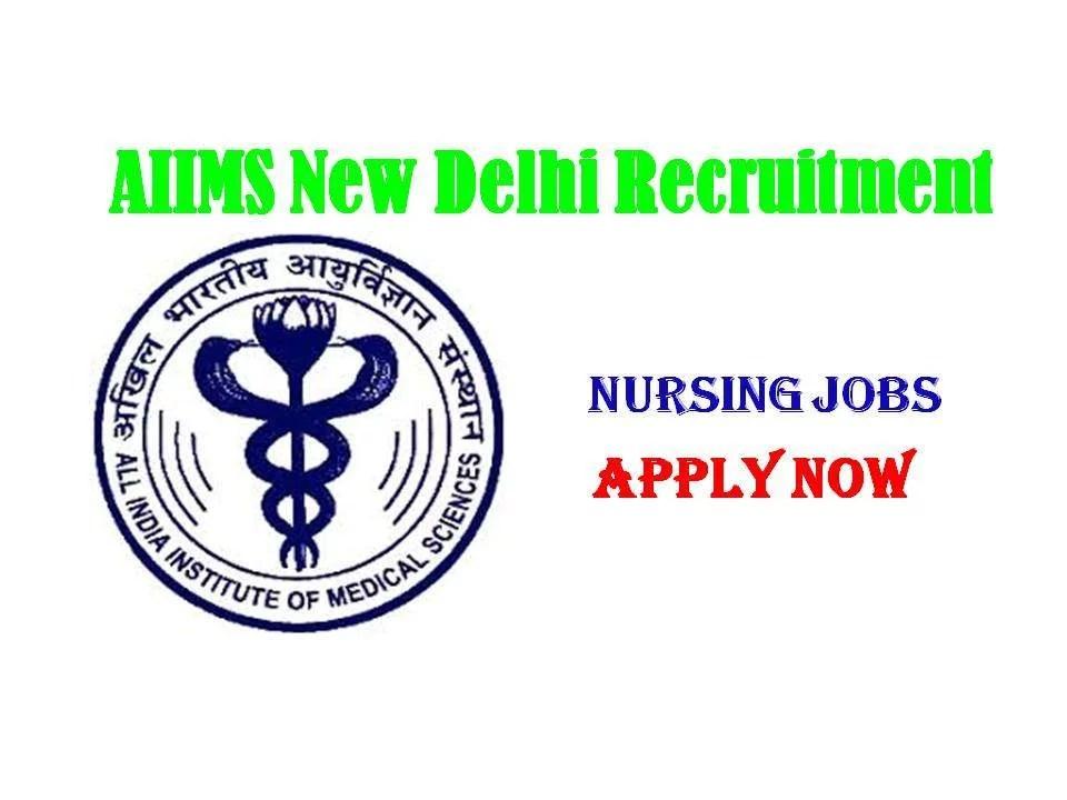 IIMS New Delhi Staff Nurse Vacancy