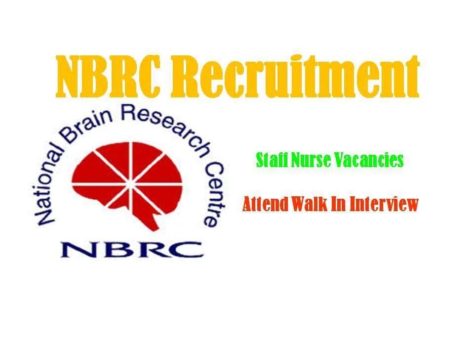 NBRC Recruitment