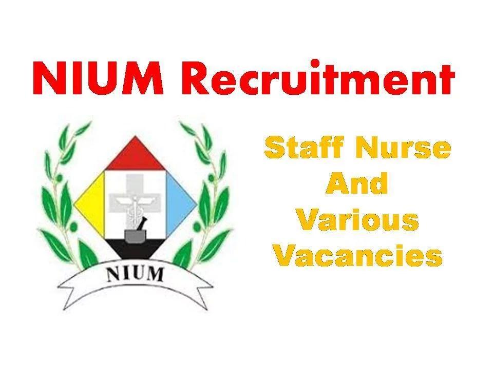 NIUM recruitment 2019