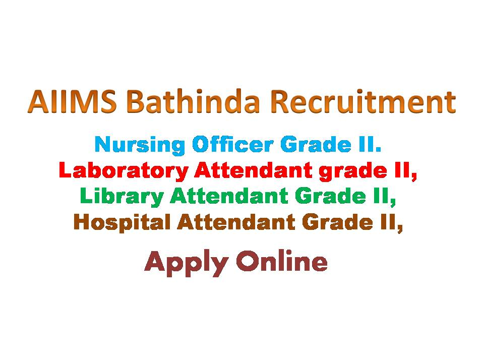 AIIMS Bathinda Nursing Officer