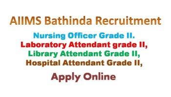 AIIMS Bathinda Nursing Officer