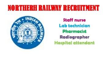 Norther Railway Recruitment