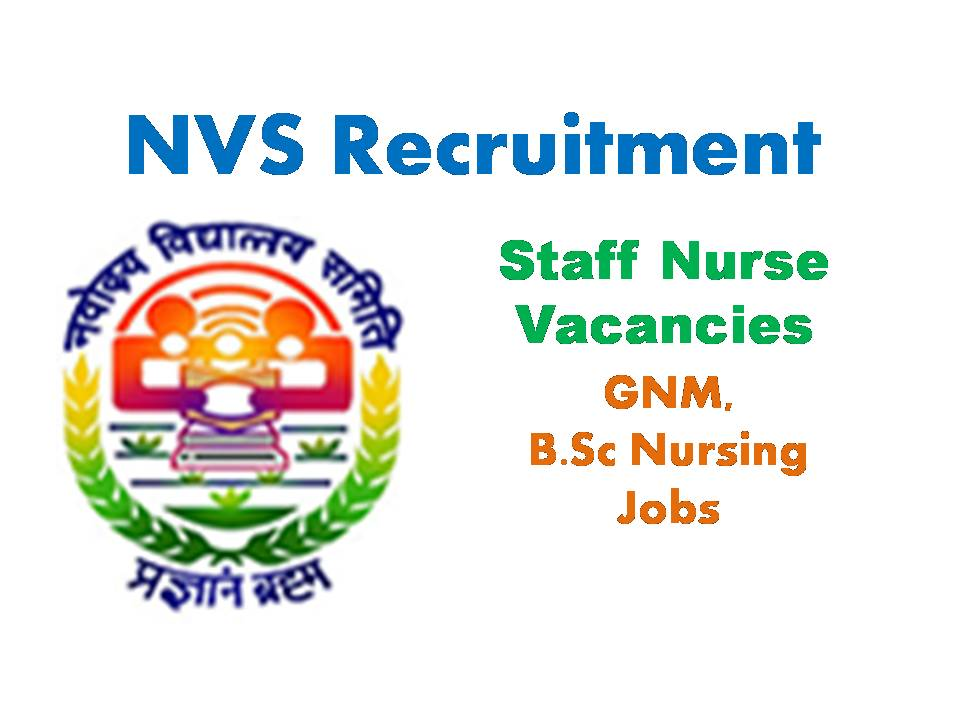 NVS Recruitment 2020