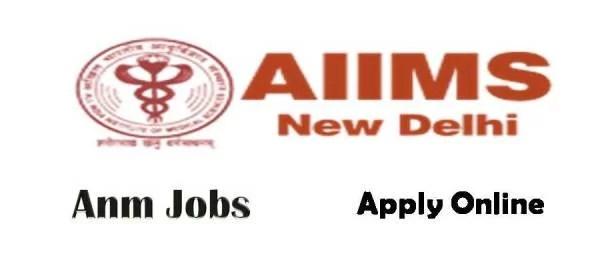 AIIMS New Delhi Anm