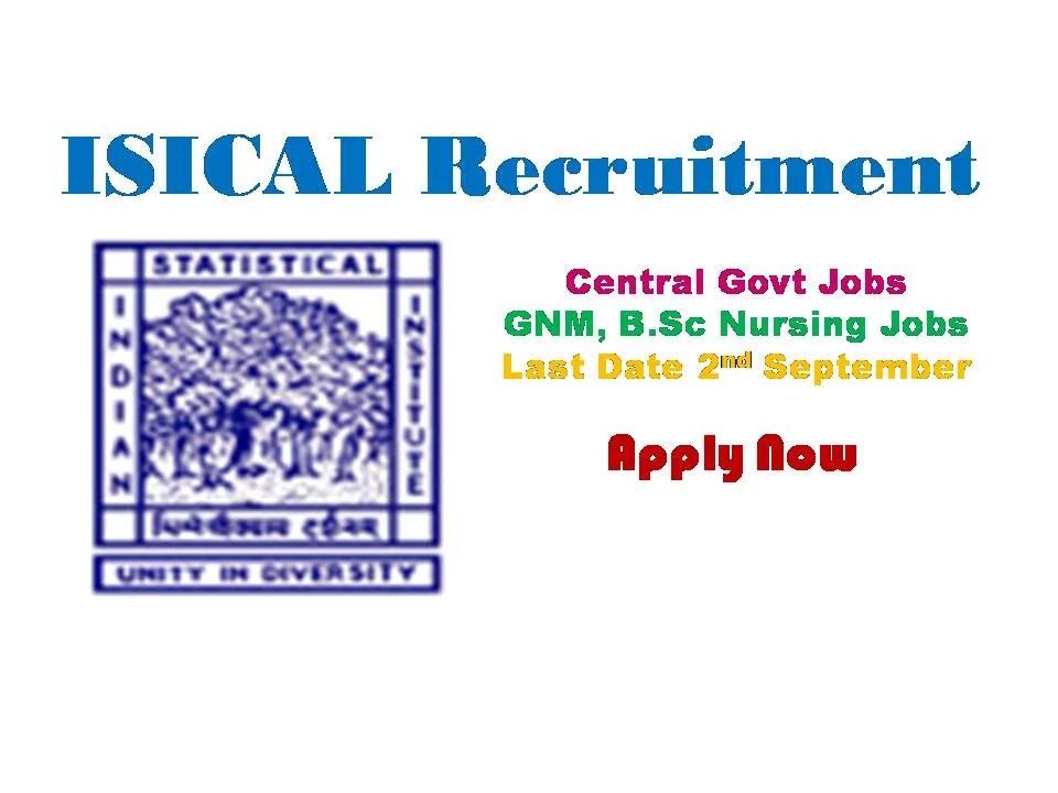 ISICAL Recruitment