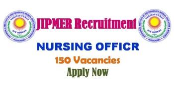 JIPMER Karaikal Recruitment